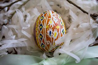 صور بيض ملون لشم النسيم