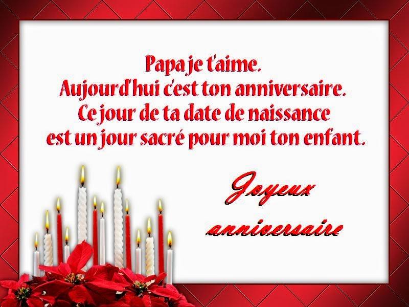 Poème Joyeux Anniversaire Papa Meilleurs Voeux