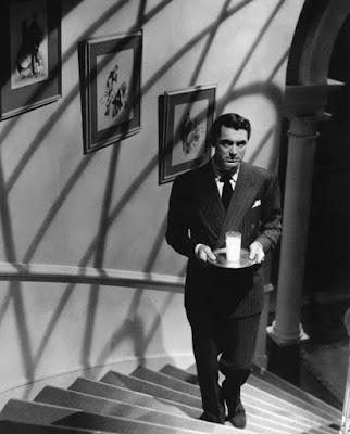 "Cary Grant en ""Sospecha"""