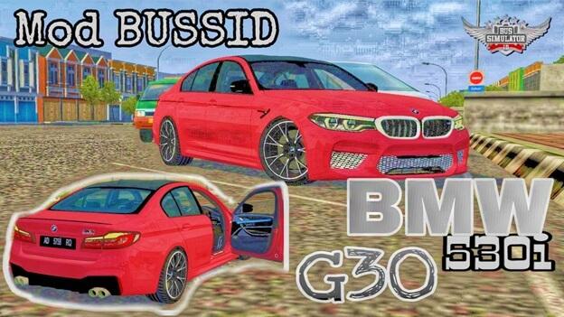Mod Bussid BMW 530i G30 M5 Performance