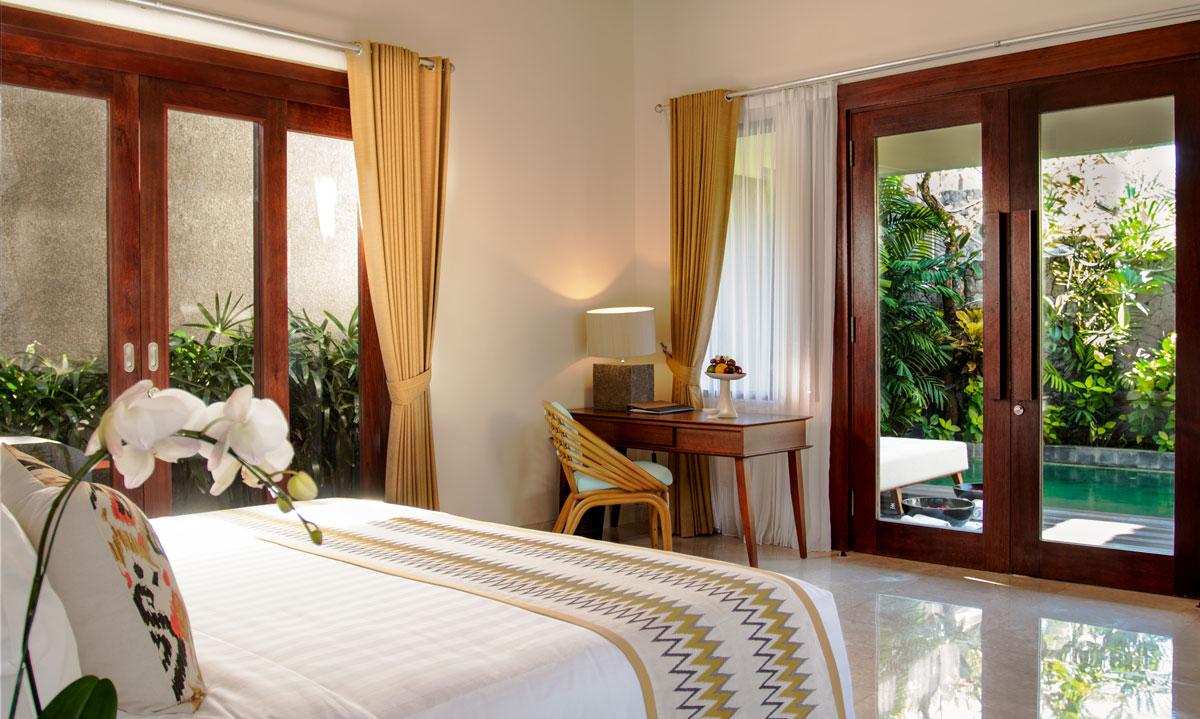 Bedroom Villa Interior - Architecture Photography