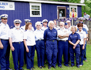 Auxiliary and Coast Guard members