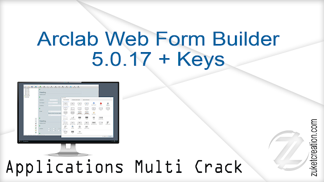 Arclab Web Form Builder 5.0.17 + Keys   |  5.10 MB