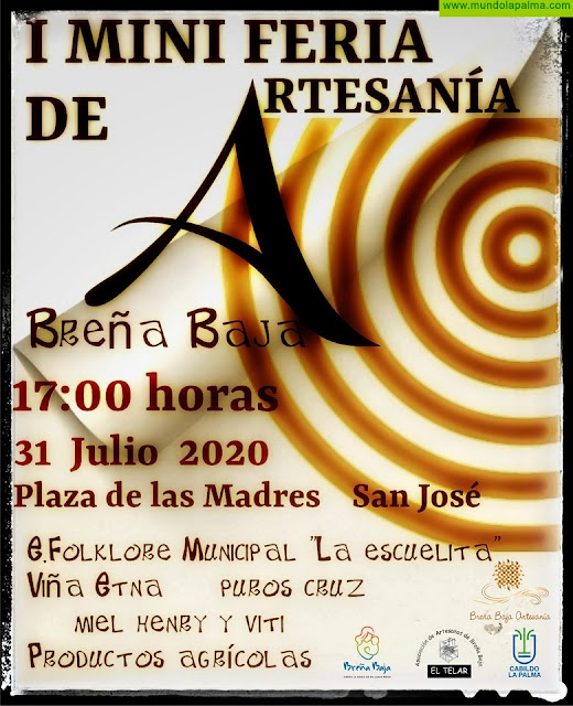 BREÑA BAJA: primera Mini Feria de Artesanía