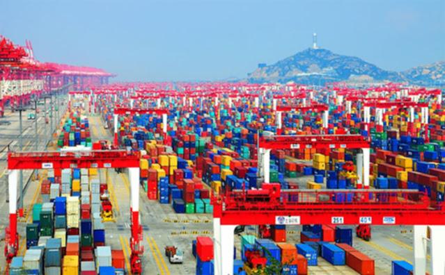 ميناء شنغهاي الصيني - Port of Shanghai – الميناء الأكبر في العالم1
