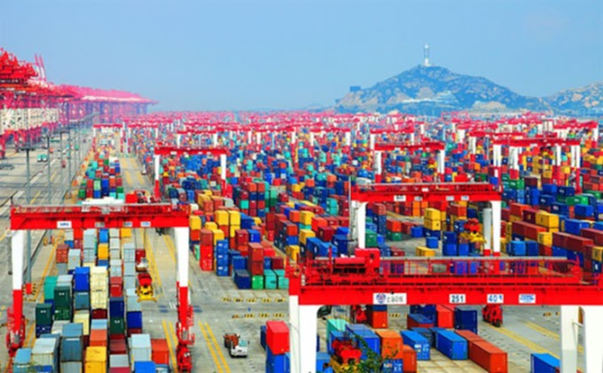 ميناء شنغهاي الصيني - Port of Shanghai – الميناء الأكبر في العالم