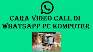 Cara melakukan panggilan WhatsApp di PC ternyata bisa