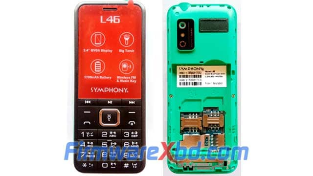 Symphony L46 Flash File Download SC6531E 100% Tested