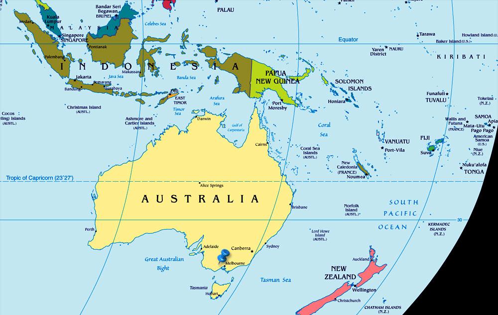 Dasar Dasar Ilmu Tanah: Peta Australia 01