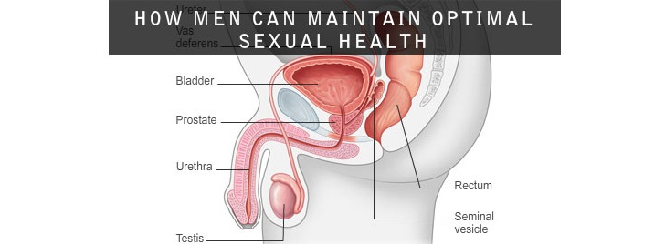 How men can maintain optimal sexual health