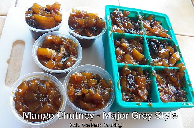 Mango Chutney - Major Grey Style