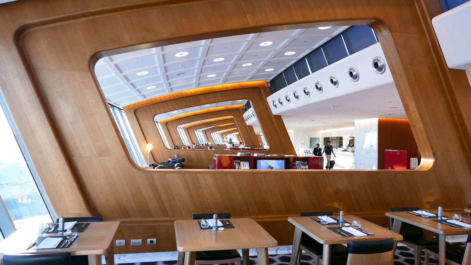 Euriental   luxury travel & style   Qantas First lounge, Auckland, New Zealand