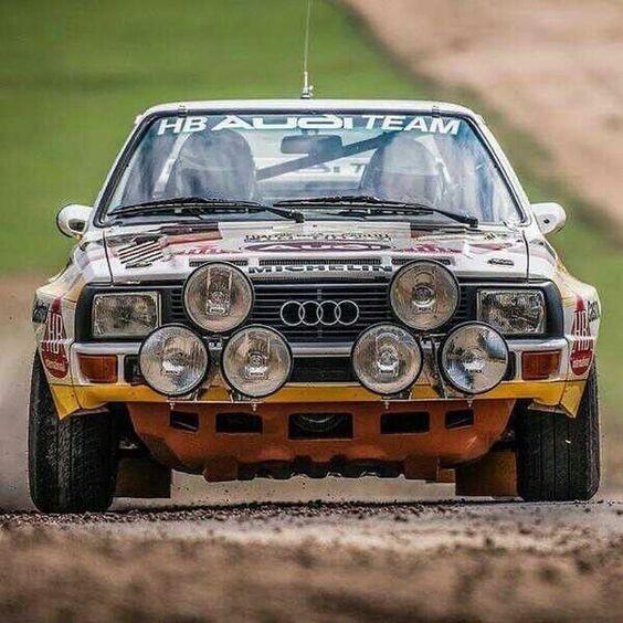 Audi Quattro S1 group b rally car