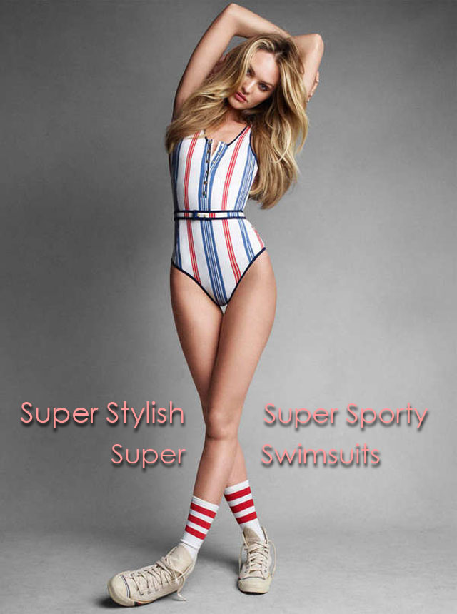 sporty swimsuits with style