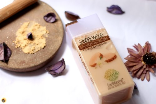 The Nature's Co Sandalwood Hair Cleanser Cum Conditioner review