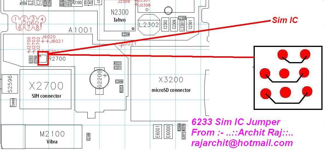 Nokia 6233 Insert Sim Card Problem Picture Help