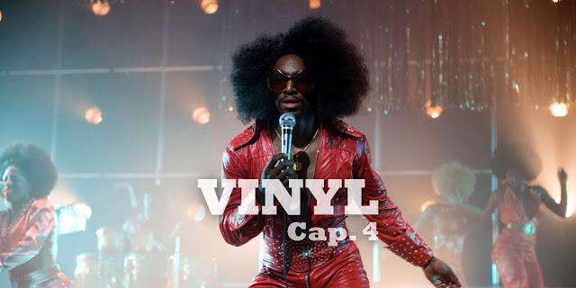 CAP 4 - Richie encanta a una superestrella del funk; Skip busca descargar un envío de Donny Osmond LPs.