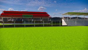Pembangunan Stadion Sepak Bola Desa Kuta Termegah di Bima
