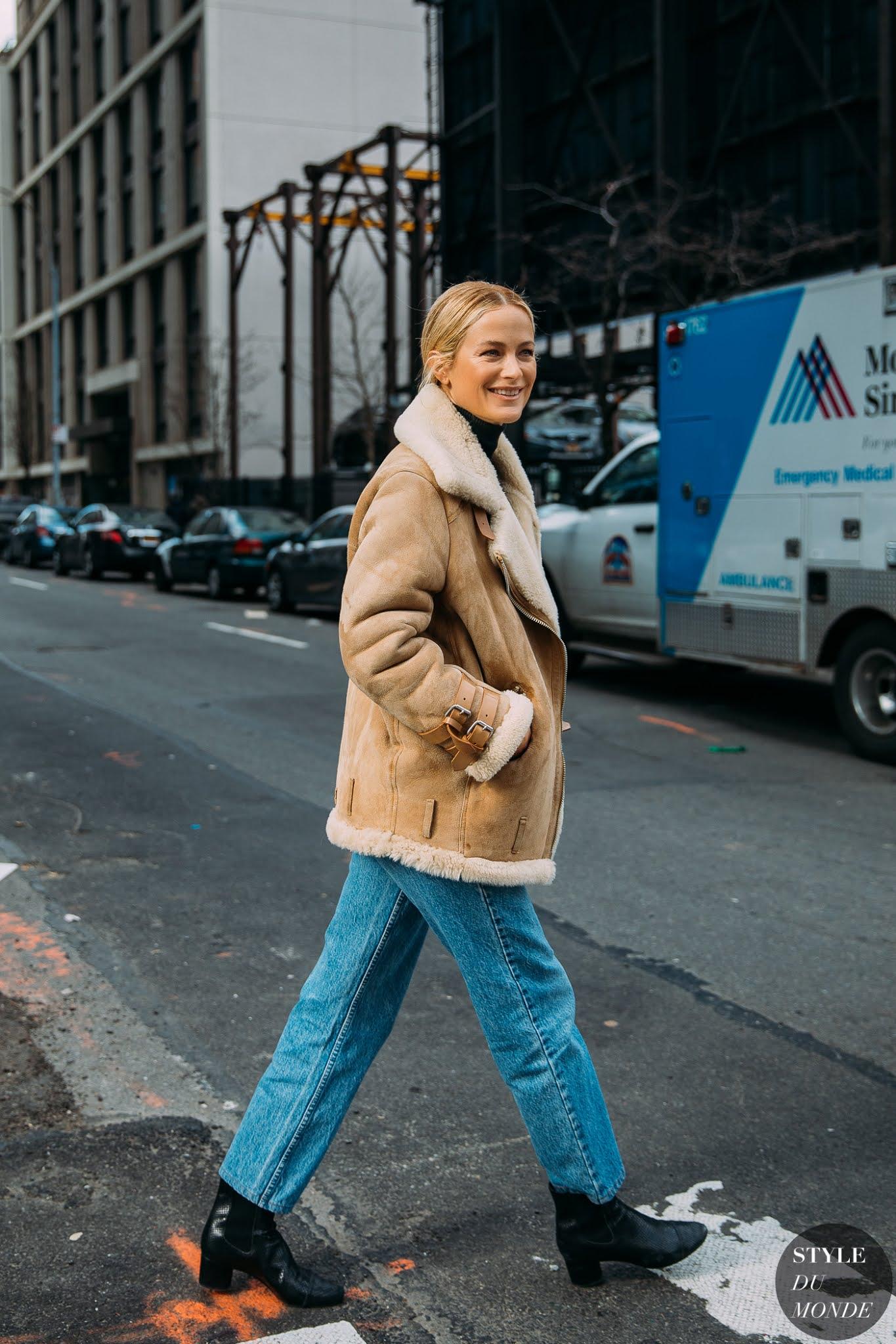 25 Best Moto Jackets — Carolyn Murphy Winter Street Style Outfit