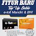 FITUR Baru E-Loket - Top Up Saldo e-toll Mandiri & BNI