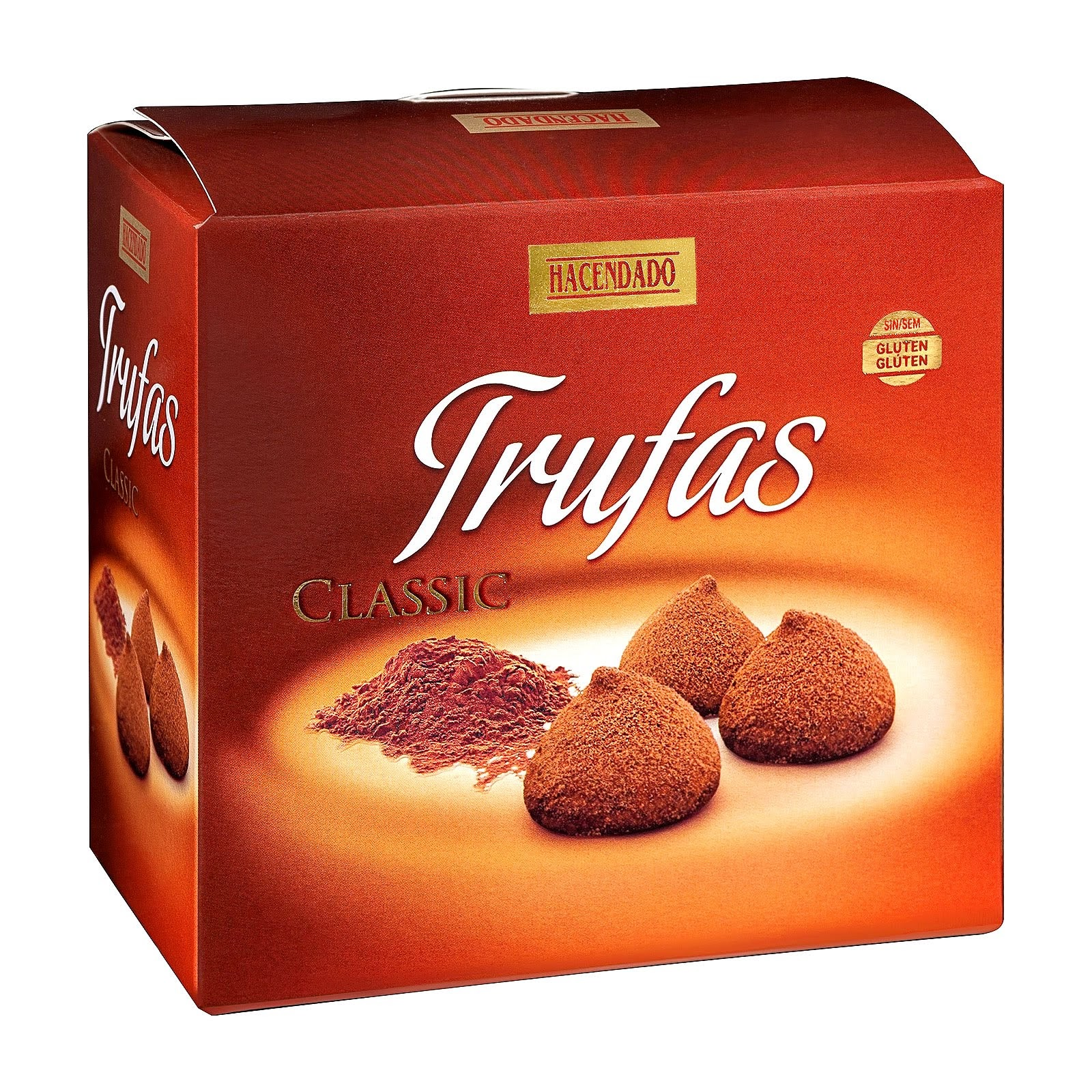 Trufas clásicas al cacao Hacendado