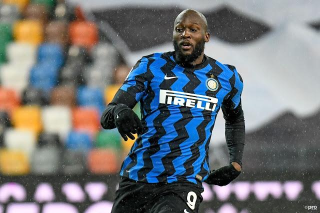 Inter Milan striker Romelu Lukaku
