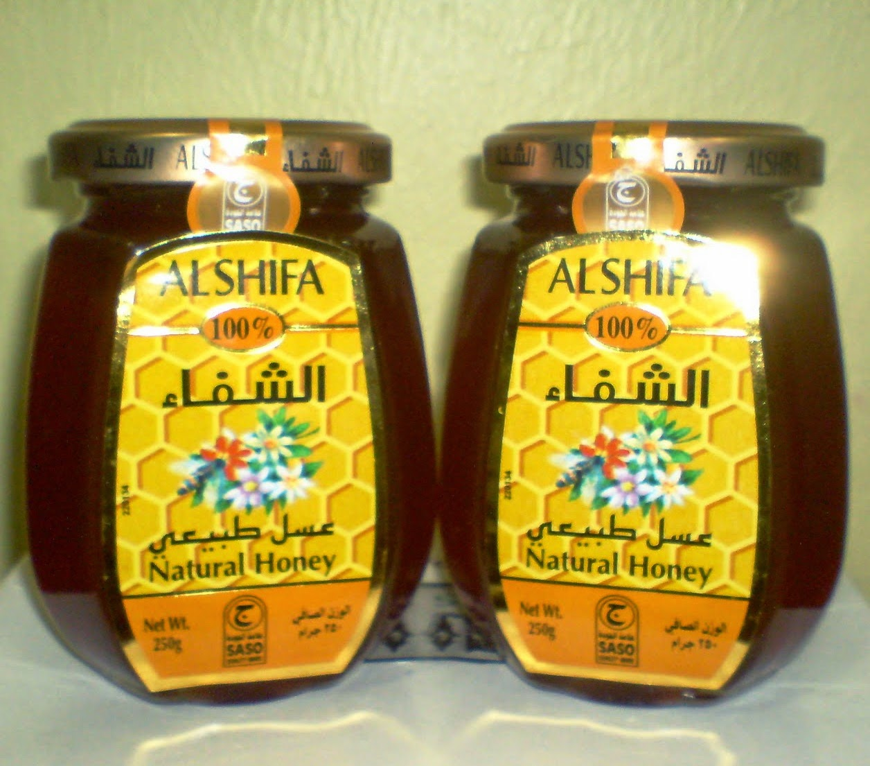 Madu Arab Al Shifa Natural Honey 125 gr Andiherbal.com