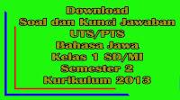 download soal dan kunci jawaban uts bahasa jawa kelas 6 sd semester 2 kurikulum 2013