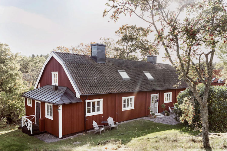 An Idyllic Rustic Swedish House In The Countryside