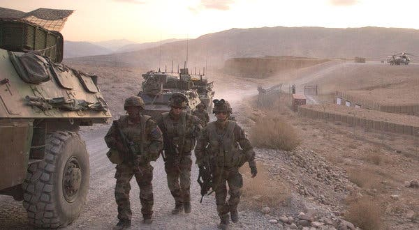 Britain considers withdrawing troops from Afghanistan