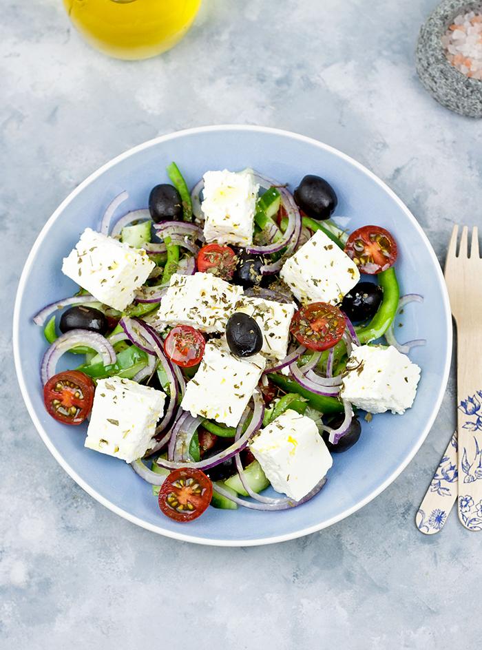 Sałatka grecka jak zrobic