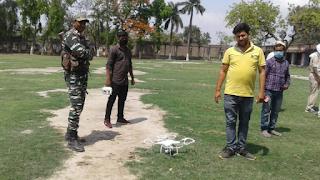 drone-camera-watching-begusaray