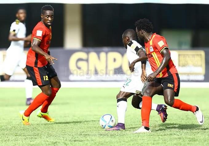 FIFA WC Qualifier: Ghana 0-0 Uganda