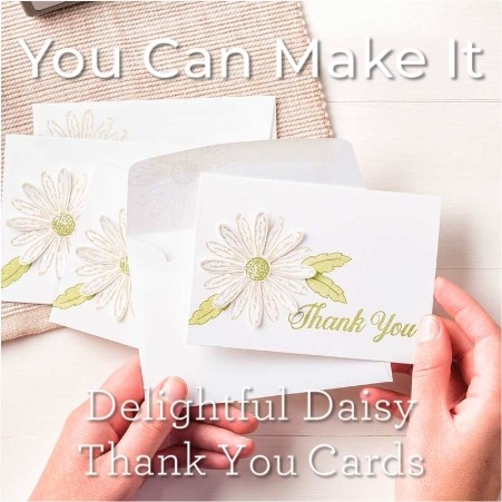 Daisy Delight and Daisy Punch from Stampin Up