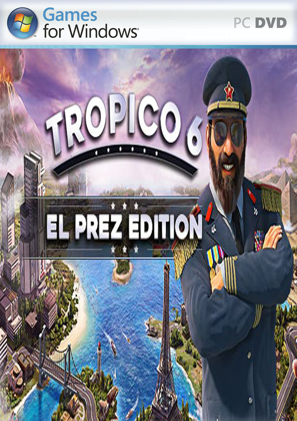 Tropico 6 PC Cover