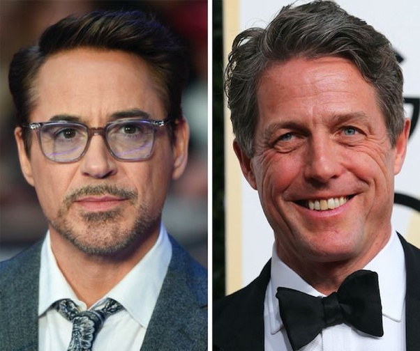 Hugh Grant và Robert Downey Jr