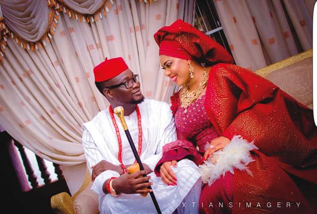 Photo: Sheyman In Secret Traditional Wedding