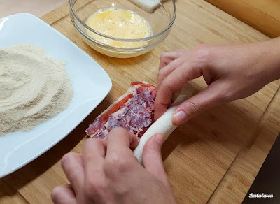 Flamenquines de jamón ibérico y queso