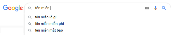 Ví dụ cụ thể nhất cho AJAX là Google