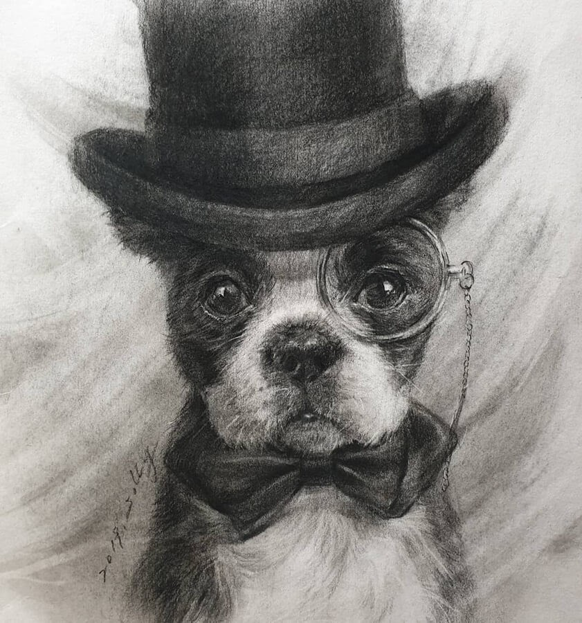 09-Dog-with-Monocle-and-Top-Hat-Jori-www-designstack-co