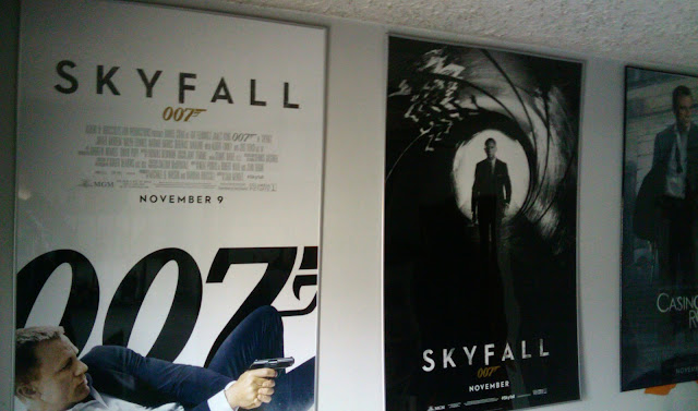 My James Bond poster collection