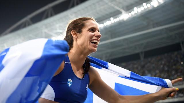 """""""Χρυσό Ολυμπιακό"""" για την Πόντια Κατερίνα Στεφανίδη στο Ρίο"""