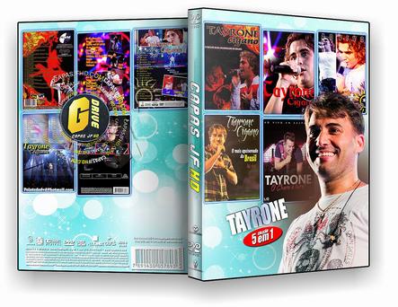 DVD COLEÇÃO TAYRONE - BY 5X1 - ISO