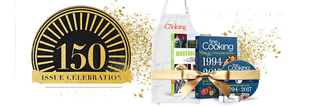 Fine Cooking 150th Issue Sweepstakes