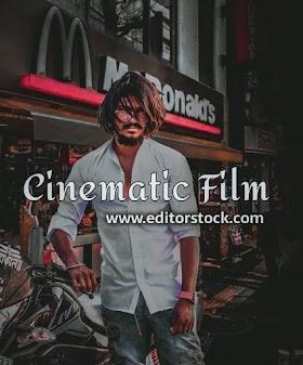 Cinematic Film - Lightroom mobile preset download for free
