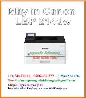 máy in wifi Canon LBP 214dw giá tốt nhất