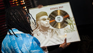 Burna Boy becomes the first and only African artiste with a solo record to pass 50 million streams on Spotify