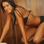 Andrea Rincon, Selena Spice Galeria 27 : Camiseta Basket, Cachetero Negro Foto 101
