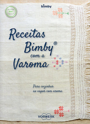 """Livro """"Receitas Bimby com a Varoma"""""""