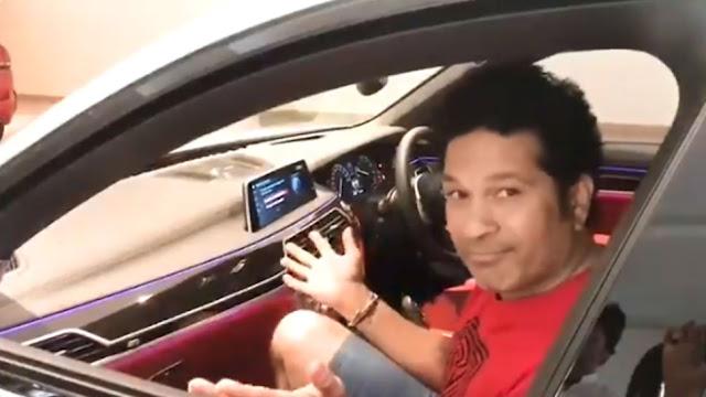 खुद-ब-खुद चलने लगी कार, सचिन तेंदुलकर बोले- कहीं इसमें 'मिस्टर इंडिया' तो नहीं